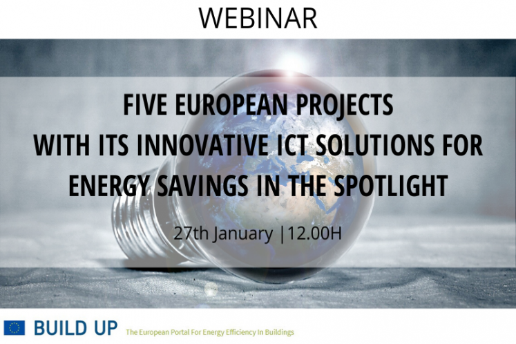 Innovative ICT solutions for energy savings in the spotlight